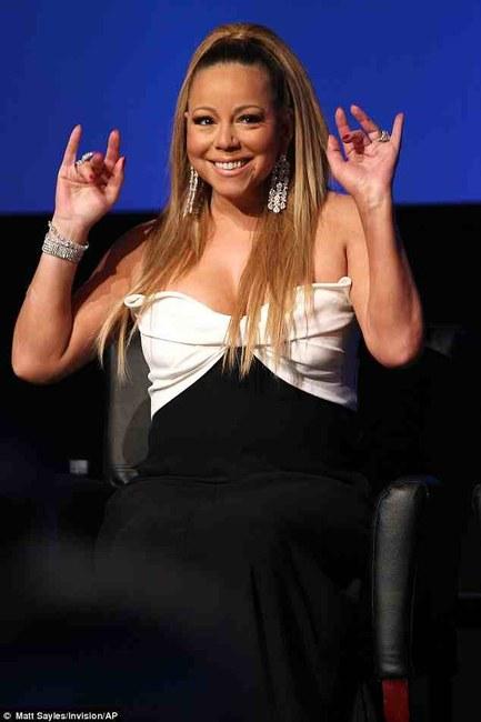 Mariah Carey Ponytail