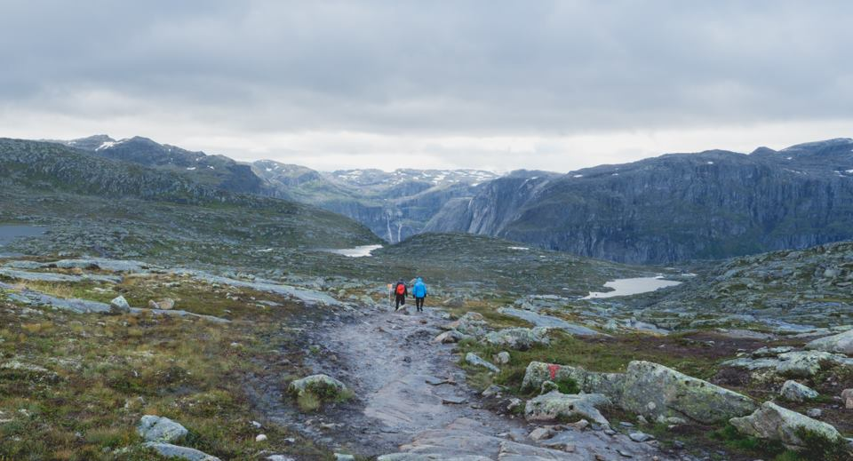The good part of hiking Trolltunga!